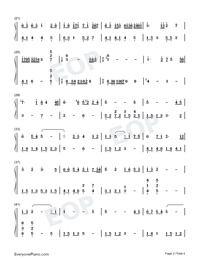 Memory-Departures Theme-Numbered-Musical-Notation-Preview-2
