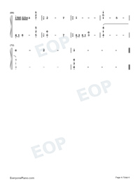 Memory-Departures Theme-Numbered-Musical-Notation-Preview-4