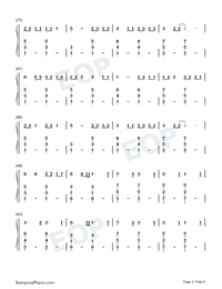 Cowboy Like Me-Taylor Swift-Numbered-Musical-Notation-Preview-5