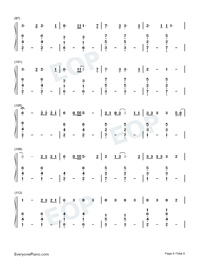 Cowboy Like Me-Taylor Swift-Numbered-Musical-Notation-Preview-6