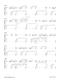 The 1-Taylor Swift Numbered Musical Notation Preview 7