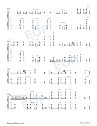Force-World Trigger Season 2 OP-Numbered-Musical-Notation-Preview-4