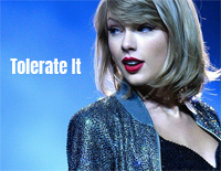 Tolerate It-Taylor Swift