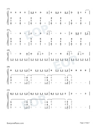 Its Time to Go-Taylor Swift-Numbered-Musical-Notation-Preview-2