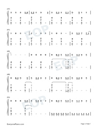Its Time to Go-Taylor Swift-Numbered-Musical-Notation-Preview-3