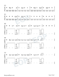 Its Time to Go-Taylor Swift-Numbered-Musical-Notation-Preview-4
