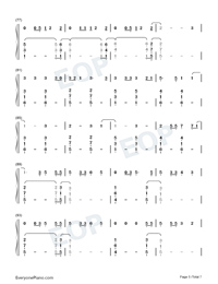 Its Time to Go-Taylor Swift-Numbered-Musical-Notation-Preview-5