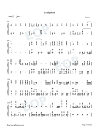 Leshphon-DNF-Numbered-Musical-Notation-Preview-1