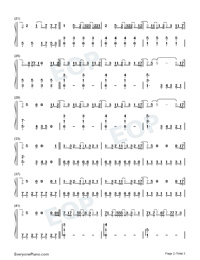 Without You-The Kid Laroi-Numbered-Musical-Notation-Preview-2