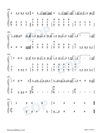 Without You-The Kid Laroi-Numbered-Musical-Notation-Preview-3