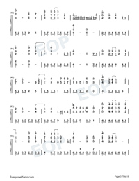 The Ballad of Lian Cheng-Heaven Officials Blessing Season 2 Theme-Numbered-Musical-Notation-Preview-3