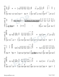 Red Supreme-Heaven Officials Blessing ED-Numbered-Musical-Notation-Preview-4