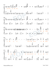 The World Is Full Of Surprises-Perfect Version-Numbered-Musical-Notation-Preview-3