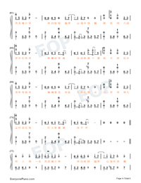 The World Is Full Of Surprises-Perfect Version-Numbered-Musical-Notation-Preview-4
