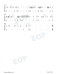 We Are Good-Dua Lipa Numbered Musical Notation Preview 4