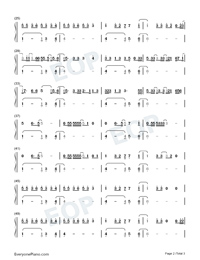 As I Am-Justin Bieber ft Khalid-Numbered-Musical-Notation-Preview-2
