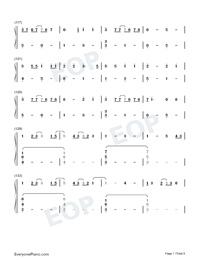 Film Out-Signal the Movie Cold Case Investigation Unit Theme Numbered Musical Notation Preview 7