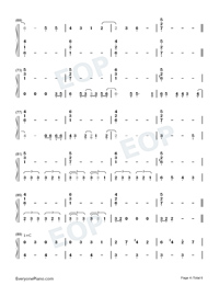 Look Up At The Stars-Shawn Mendes Numbered Musical Notation Preview 4