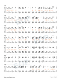 Look Into My Eyes-Numbered-Musical-Notation-Preview-2