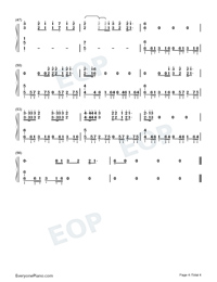 Ur So F**king Cool-Tones and I Numbered Musical Notation Preview 4