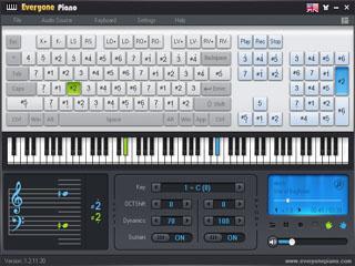 Everyone piano 1.4.9 - Software simulasi piano