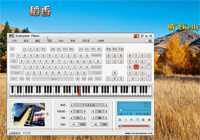 稻香-简单版钢琴谱档(五线谱,双手简谱,数位谱,midi,)图片