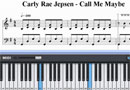 Call Me Maybe,eop midi Sheet Music Show