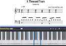 Piano Tutorial for A Thousand Years - Christina Perri