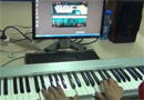 Rainbow, by Jay Chou, played on EOP keyboard piano