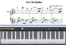 Piano Tutorial for Over The Rainbow - The Wizard of Oz