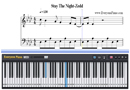 Piano Tutorial for Stay The Night - Zedd