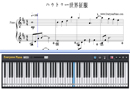 Piano Tutorial for World Domination How-To - Kagamine Rin、Kagamine Len
