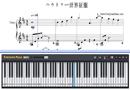 Piano Tutorial for World Domination How-To - Kagamine Rin、Kagamine Len
