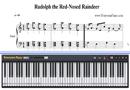 赤鼻のトナカイ-クリスマス歌楽譜ピアノ学習