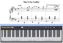 Piano Tutorial for Time to Say Goodbye - Sarah Brightman