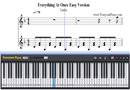 Piano Tutorial for Everything At Once - Lenka