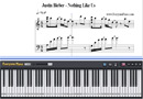Piano Tutorial for Nothing Like Us - Justin Bieber