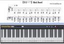 Piano Tutorial for Black Board - Hatsune Miku