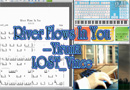 EOP River Flows In You Free Sheet Music