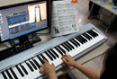Beyer Piano for Children 91 EOP+midi keyboard piano show