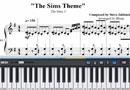 Piano Tutorial for The Sims Theme - Steve Jablonsky