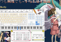 Itsumo Nando Demo Everyone Piano Keyboard Piano Show