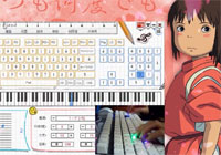 Itsumo Nando Demo-Always With Me Everyone Piano Keyboard Piano Show