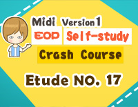 Etude NO.17 of the EOP Self-study Crash Course Midi Version season 1: the Basic Piano Fingering