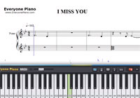 Piano Tutorial for I Miss You - Adele