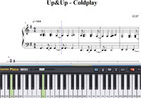 Piano Tutorial for Up and Up - Coldplay