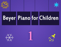 Etude NO.1 of the EOP Self-study Crash Course Midi Version season 2: Beyer Piano for Children