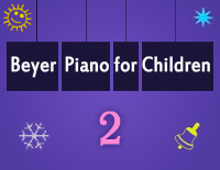 Etude NO.2 of the EOP Self-study Crash Course Midi Version season 2: Beyer Piano for Children