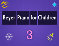 Etude NO.3 of the EOP Self-study Crash Course Midi Version season 2: Beyer Piano for Children