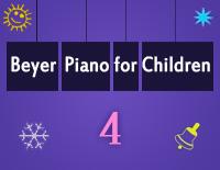 Etude NO.4 of the EOP Self-study Crash Course Midi Version season 2: Beyer Piano for Children